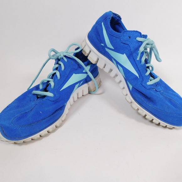 Reebok Womens Blue Athletic Shoes 85
